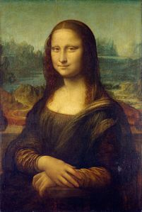 "Leonardo da Vinci, ""Mona Lisa"" (1452) (Image via Wikimedia Commons)"