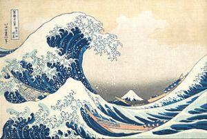 Hokusai - Kanagava'nın büyük dalgası