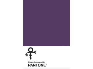 Prince için Pantone tarafından çıkarılan mor renk: Love Symbol #2
