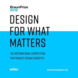 BraunPrize yarışma posteri