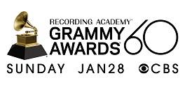 60. Grammy Ödülleri logosu